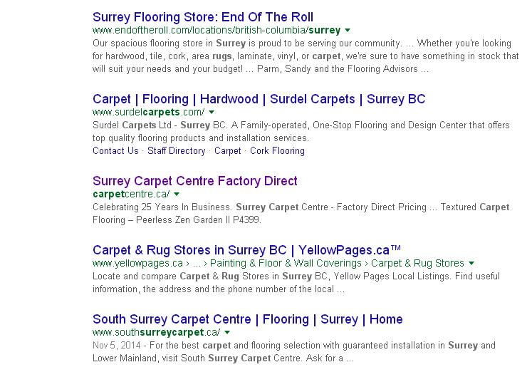 google-organic-results