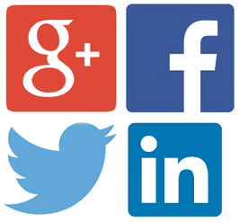 "How many times do you hear on TV or in the Media to ""Follow Us"" on Linkedin, Twitter, Facebook or Google+?"