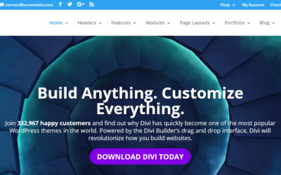Divi 3.0 WordPress Theme